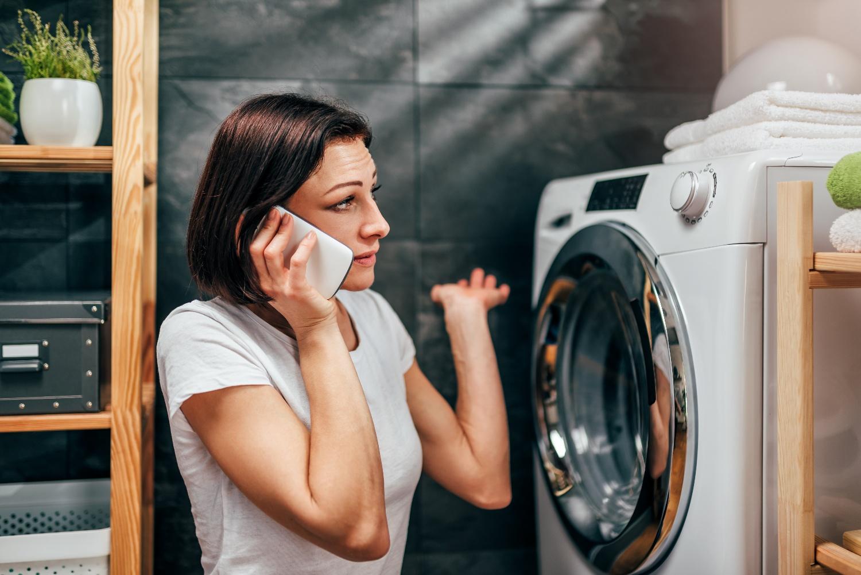 Các sự cố thường gặp của máy giặt